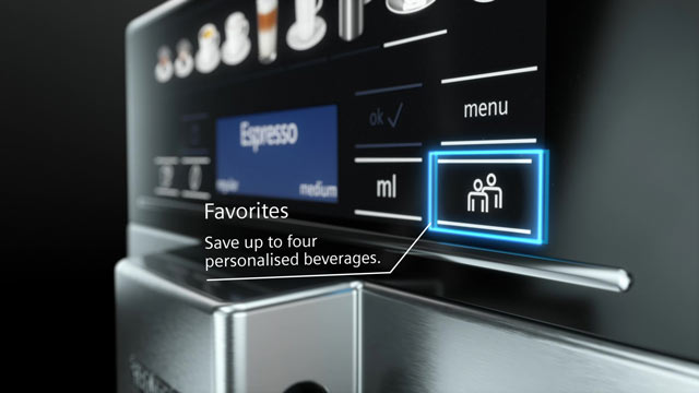 Siemens EQ.6 plus - A wide range of coffee.