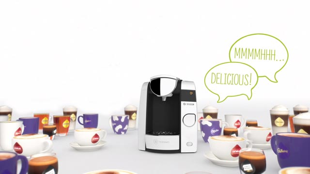 Bosch Mondelez. Tassimo JOY –  The Generous One!